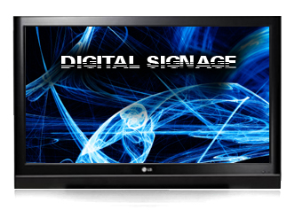 digital sign header
